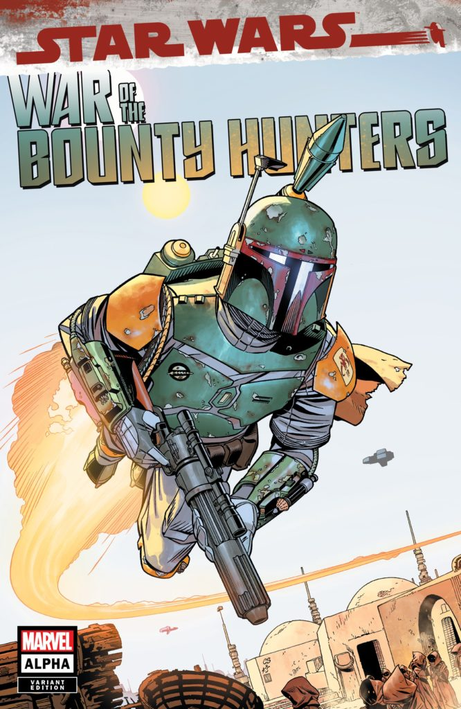 War of the Bounty Hunters Alpha #1 (Chris Sprouse Big Time Collectibles Variant Cover) (05.05.2021)