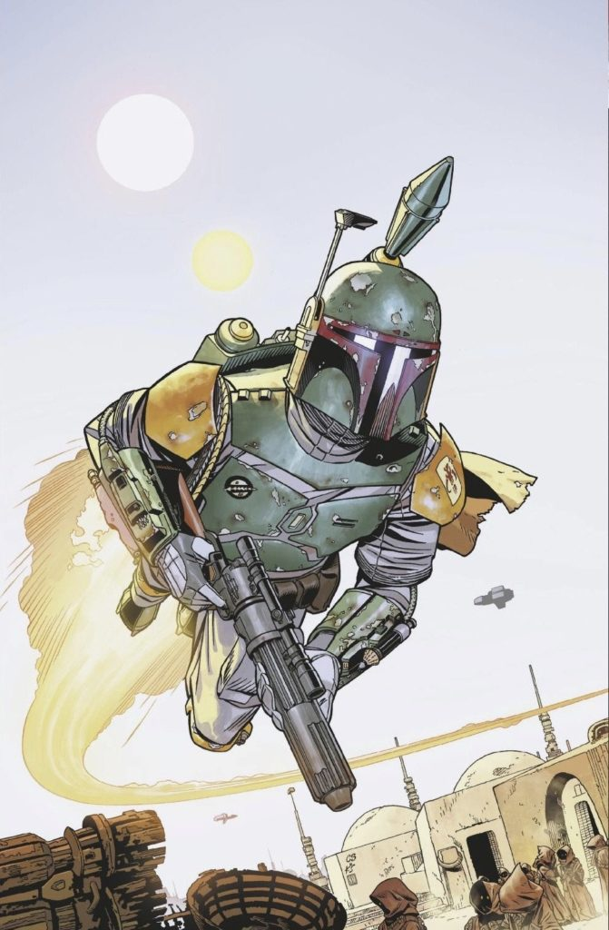 War of the Bounty Hunters Alpha #1 (Chris Sprouse Big Time Collectibles Virgin Variant Cover) (05.05.2021)