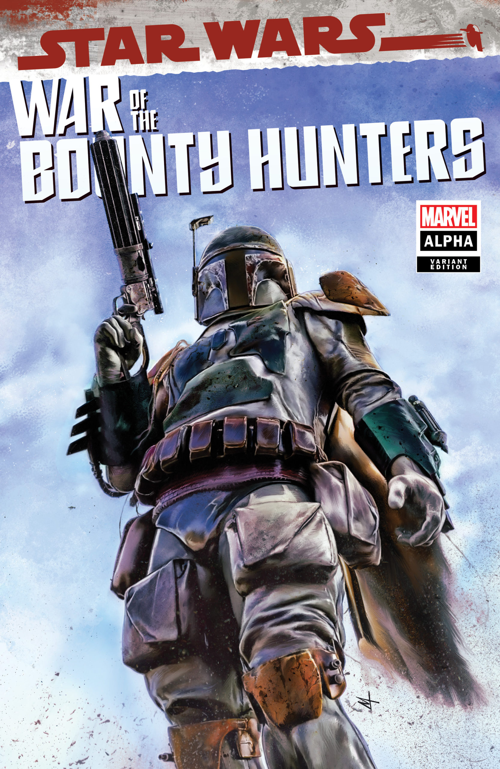 War of the Bounty Hunters Alpha #1 (Marco Turini Variant Cover) (05.05.2021)