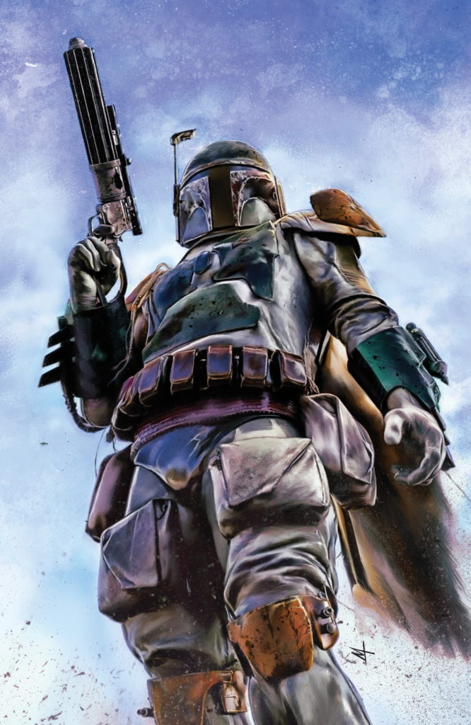 War of the Bounty Hunters Alpha #1 (Marco Turini Virgin Variant Cover) (05.05.2021)