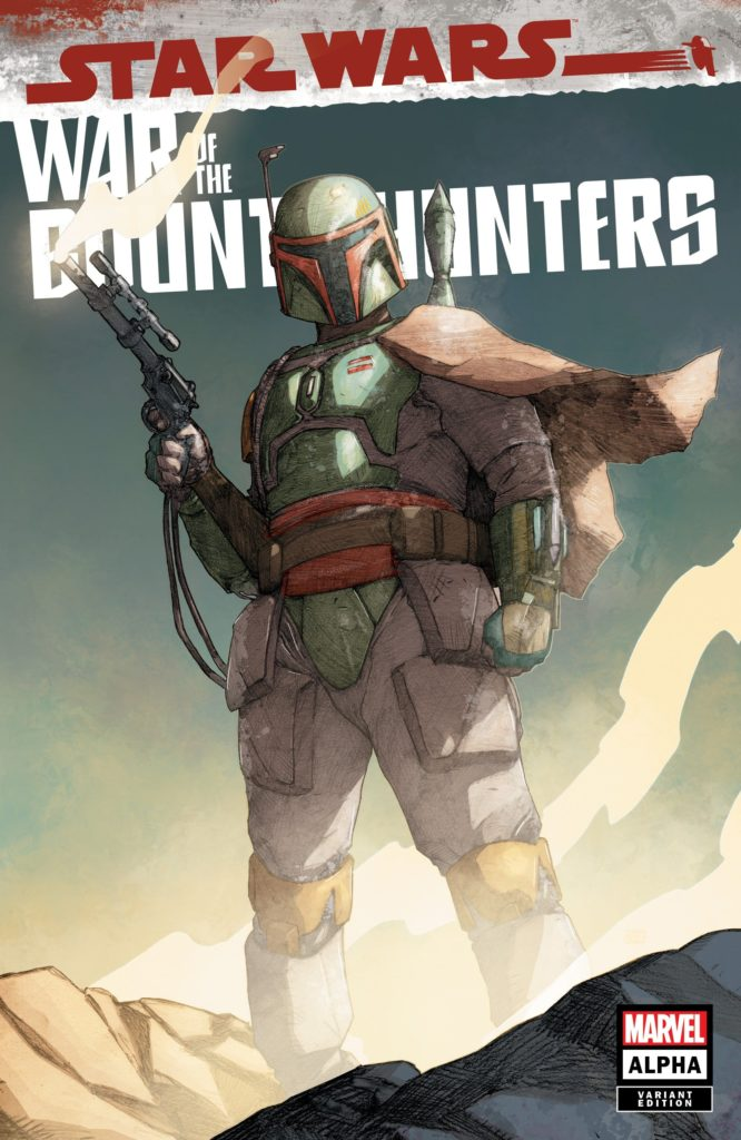 War of the Bounty Hunters Alpha #1 (Khoi Pham Frankie's Comics Variant Cover) (05.05.2021)