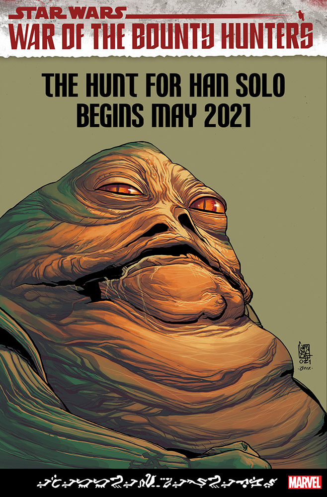 War of the Bounty Hunters: Jabba the Hutt #1 (Giuseppe Camuncoli Variant Cover)