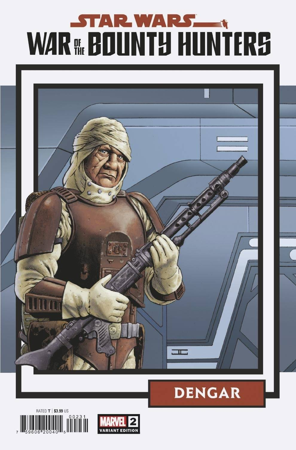War of the Bounty Hunters #2 (John Cassaday Trading Card Variant Cover) (14.07.2021)
