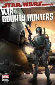 War of the Bounty Hunters Alpha #1 (Clayton Crain Black Flag Comics Variant Cover) (05.05.2021)