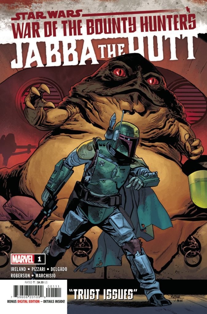 War of the Bounty Hunters: Jabba the Hutt #1 (21.07.2021)