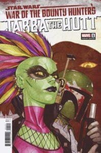 War of the Bounty Hunters: Jabba the Hutt #1 (Bernard Chang Variant Cover) (21.07.2021)