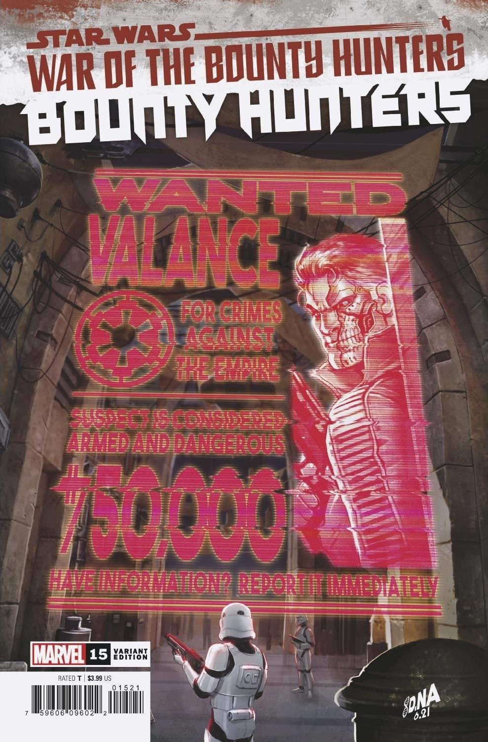 Bounty Hunters #15 (David Nakayama Wanted Poster Variant Cover) (04.08.2021)