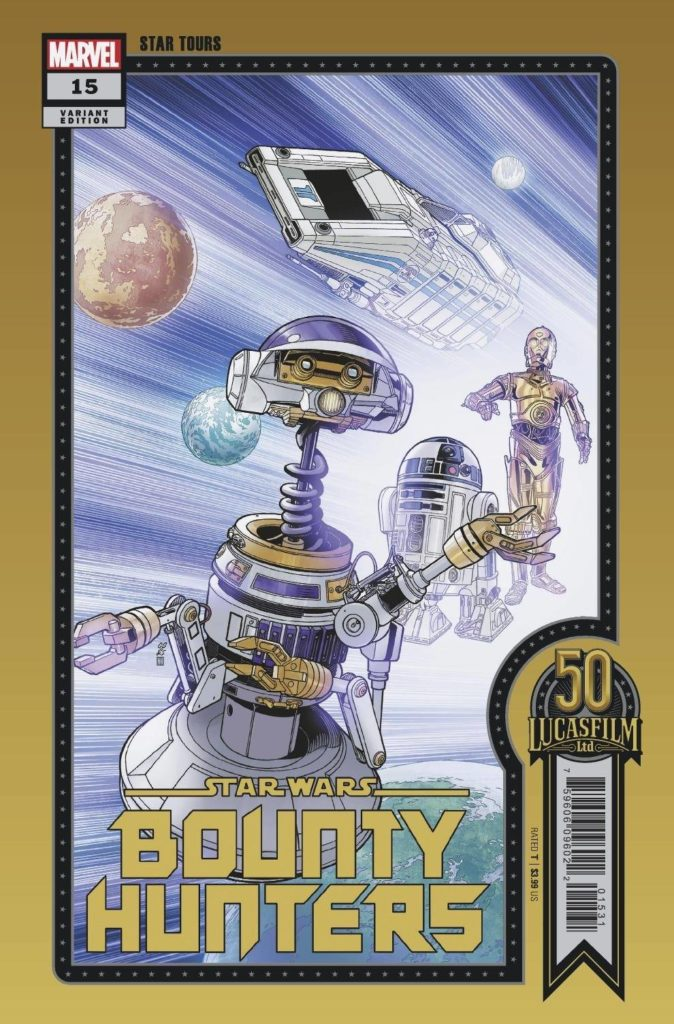 Bounty Hunters #15 (Chris Sprouse Lucasfilm 50th Anniversary Variant Cover) (04.08.2021)