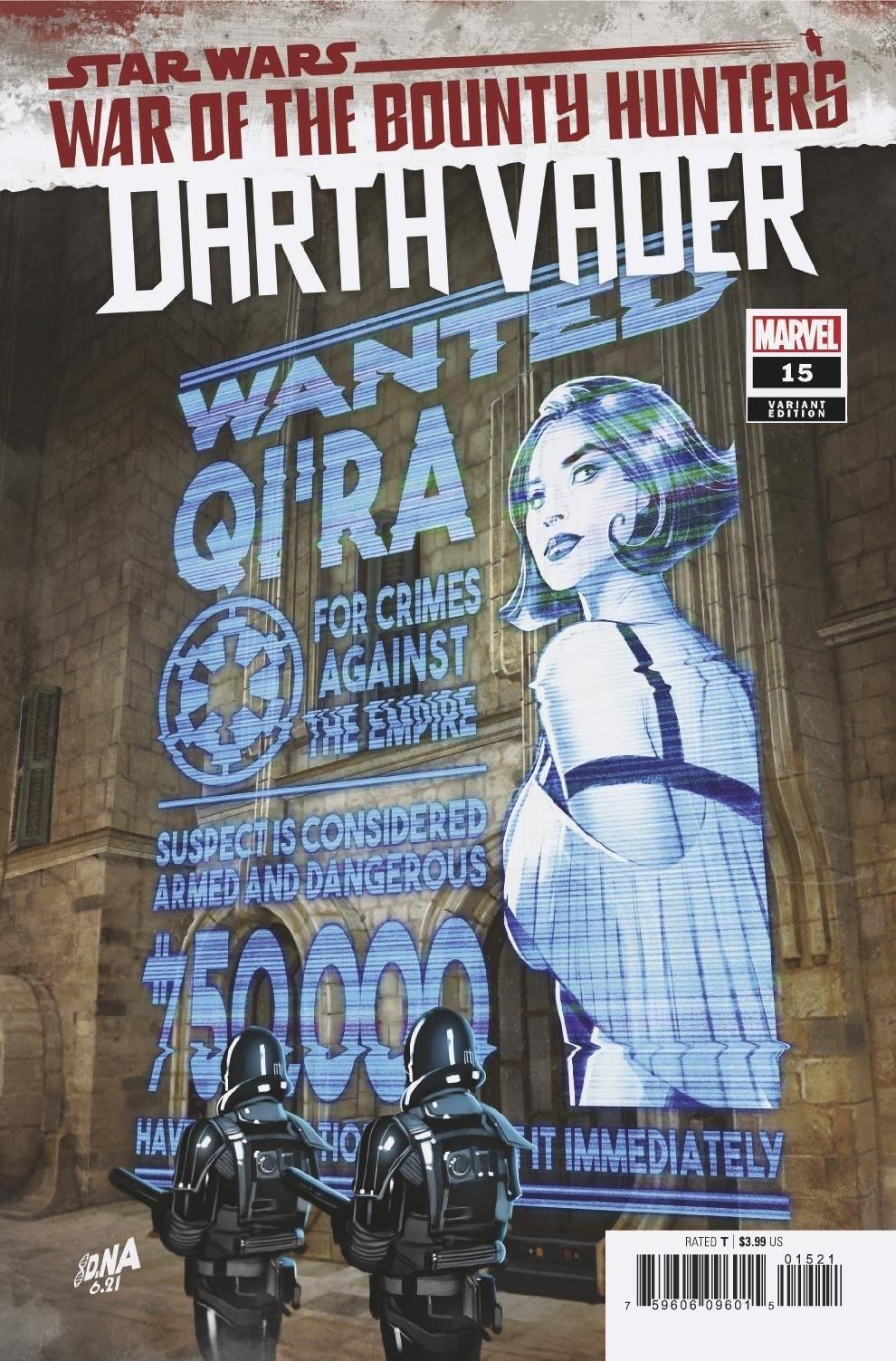 Darth Vader #15 (David Nakayama Wanted Poster Variant Cover) (25.08.2021)