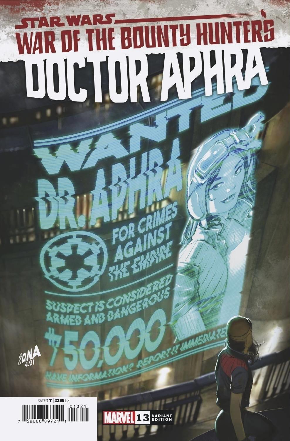 Doctor Aphra #13 (David Nakayama Wanted Poster Variant Cover) (25.08.2021)