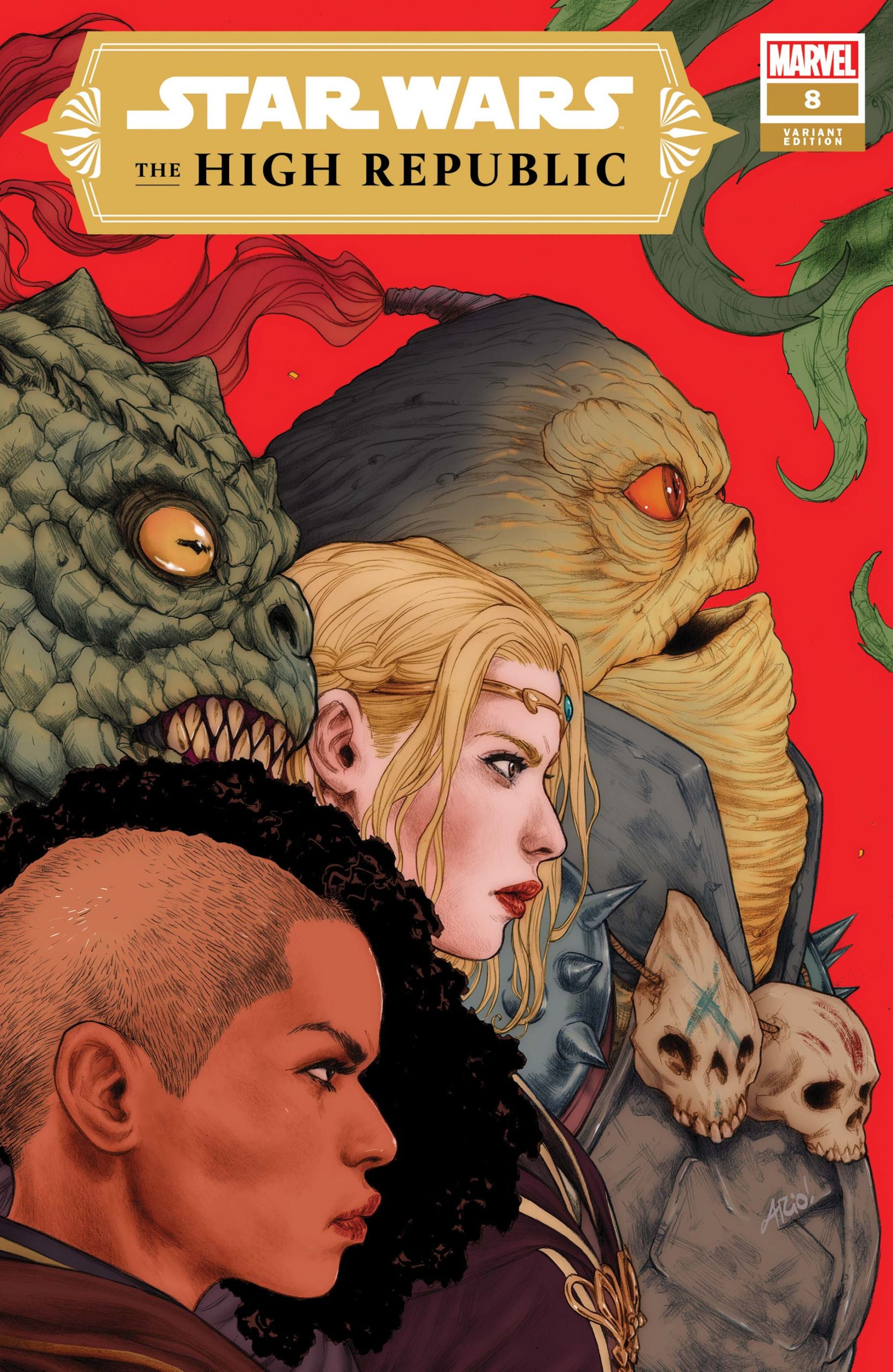 The High Republic #8 (Ario Anindito Variant Cover) (11.08.2021)