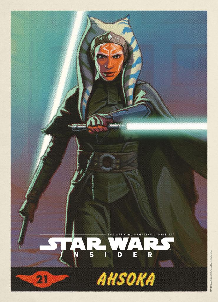 Star Wars Insider #203 (Ahsoka Cover) (22.06.2021)
