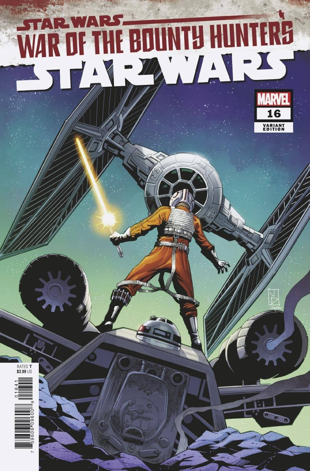 Star Wars #16 (Jan Duursema Variant Cover) (18.08.2021)