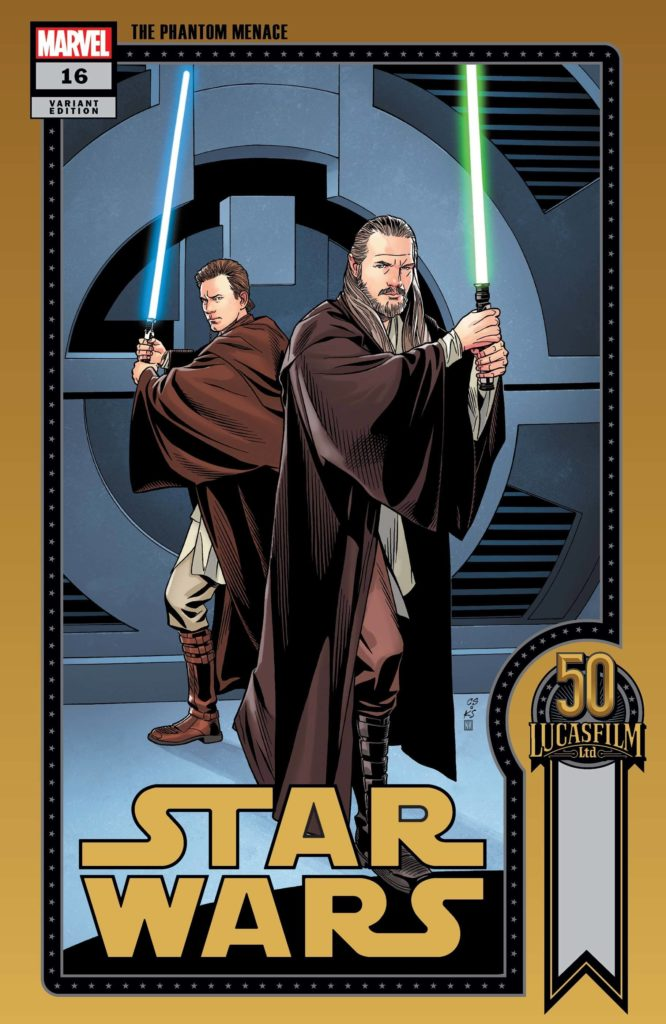 Star Wars #16 (Chris Sprouse Lucasfilm 50th Anniversary Variant Cover) (18.08.2021)