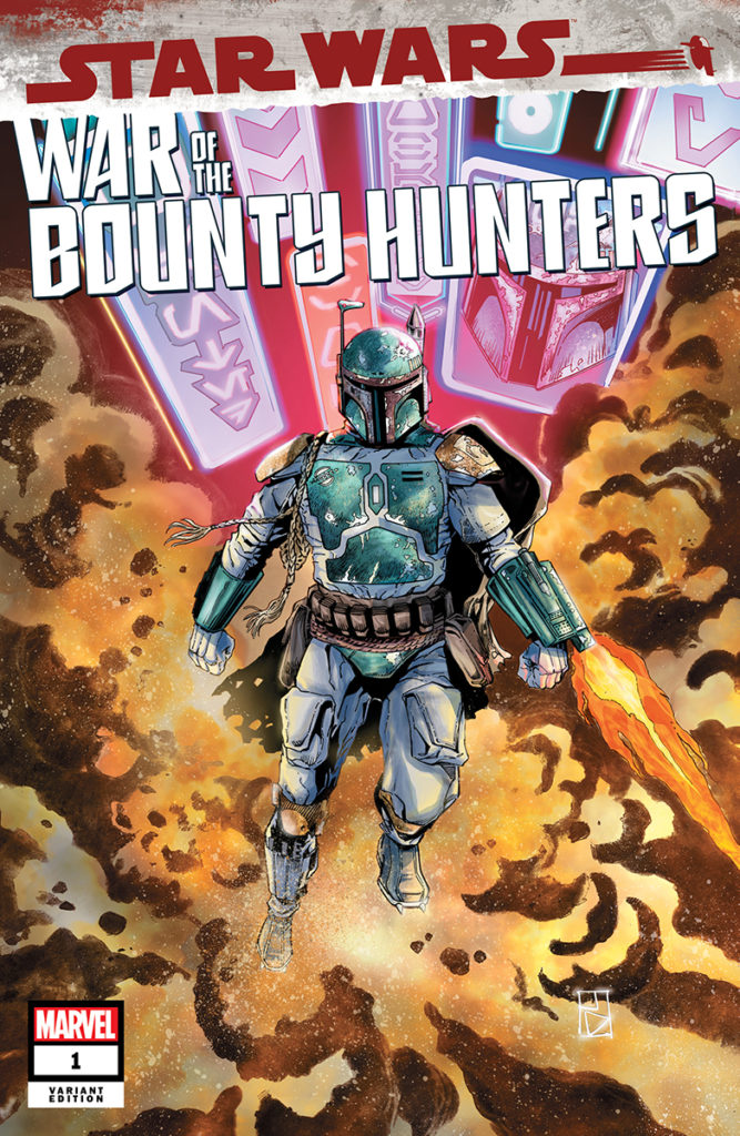 War of the Bounty Hunters #1 (Jan Duursema Unknown Comic Books Variant Cover) (02.06.2021)
