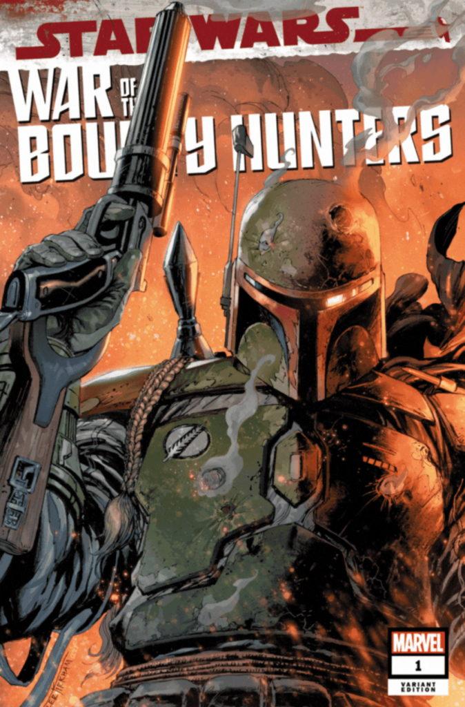 War of the Bounty Hunters #1 (Tyler Kirkham Frankie's Comics Variant Cover) (02.06.2021)