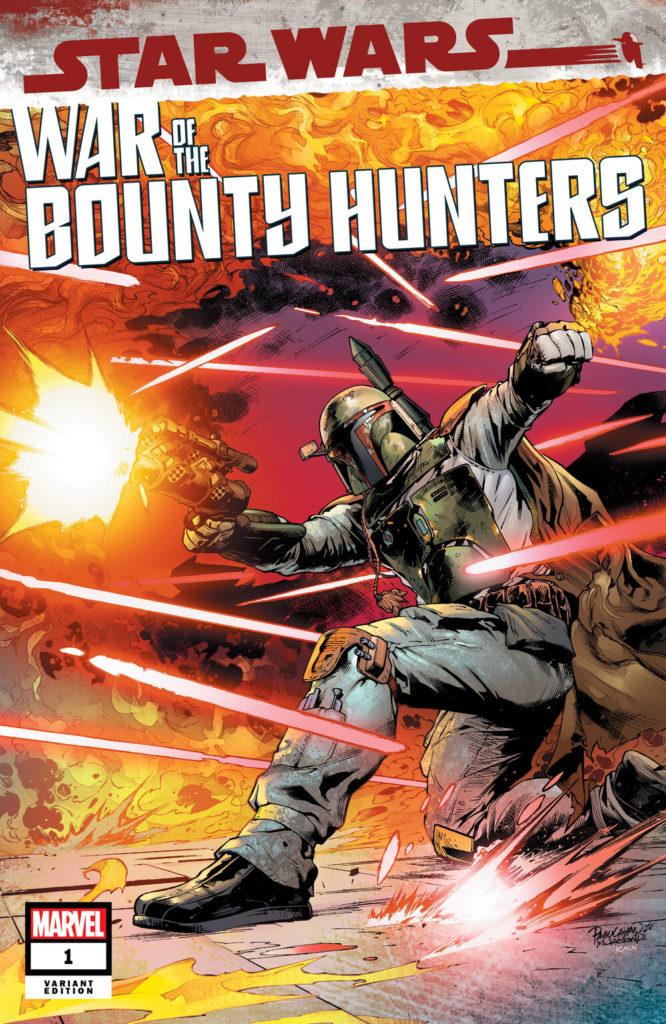 War of the Bounty Hunters #1 (Carlo Pagulayan Scorpion Comics Variant Cover) (02.06.2021)