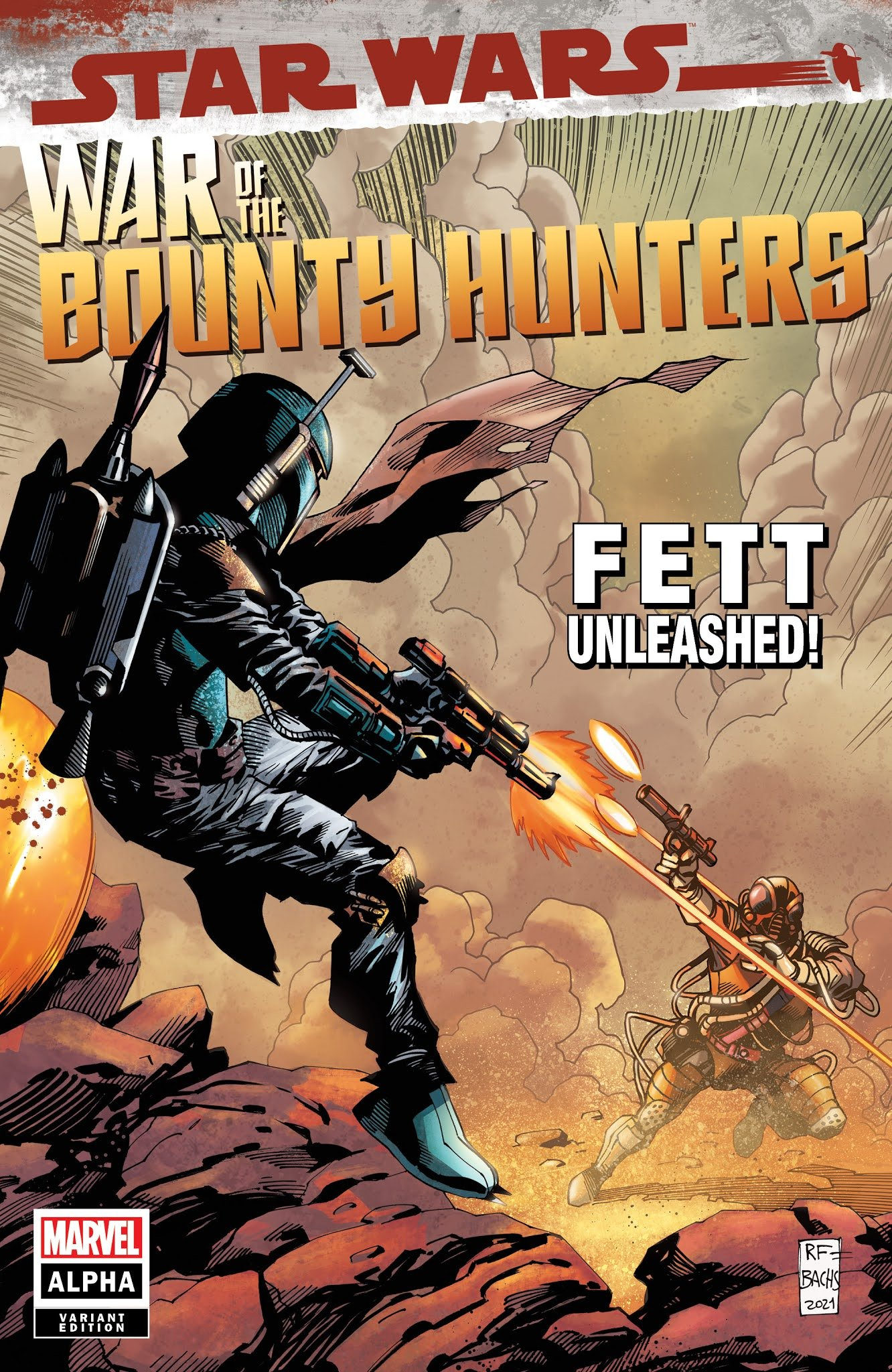 War of the Bounty Hunters Alpha #1 (Ramón F. Bachs Comic Book Exclusives Variant Cover) (05.05.2021)