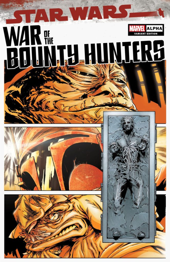War of the Bounty Hunters Alpha #1 (Paolo Villanelli Variant Cover) (05.05.2021)