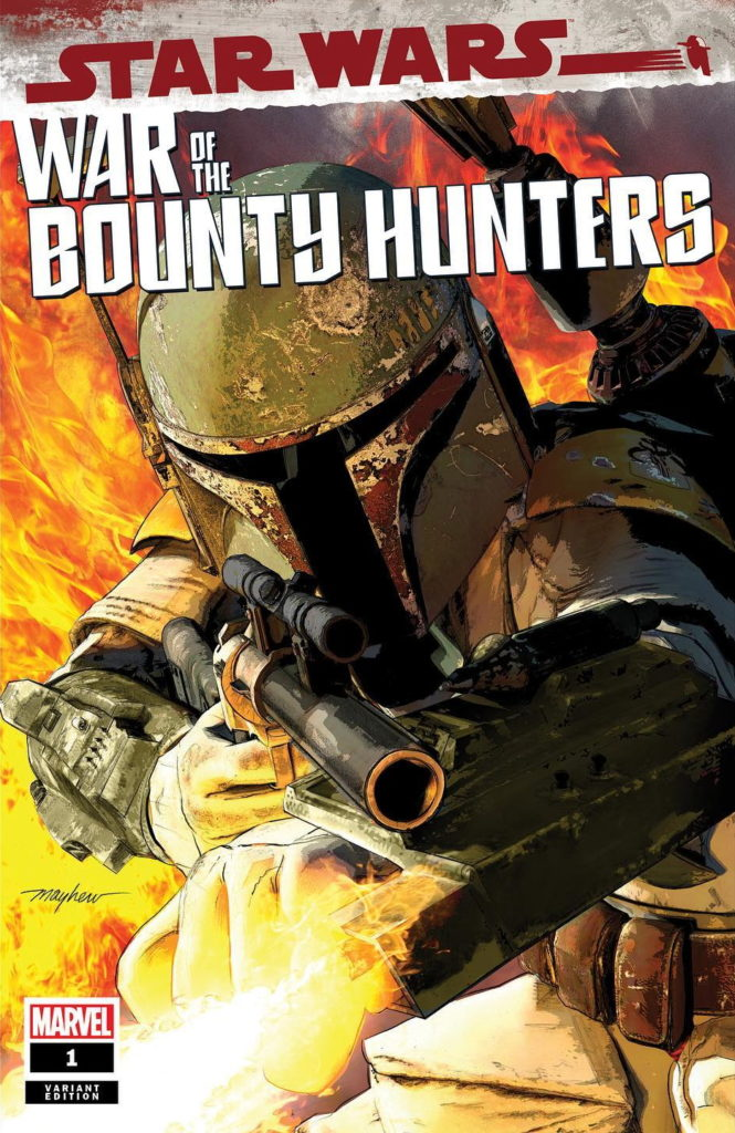 War of the Bounty Hunters #1 (Mike Mayhew Studio Variant Cover) (02.06.2021)