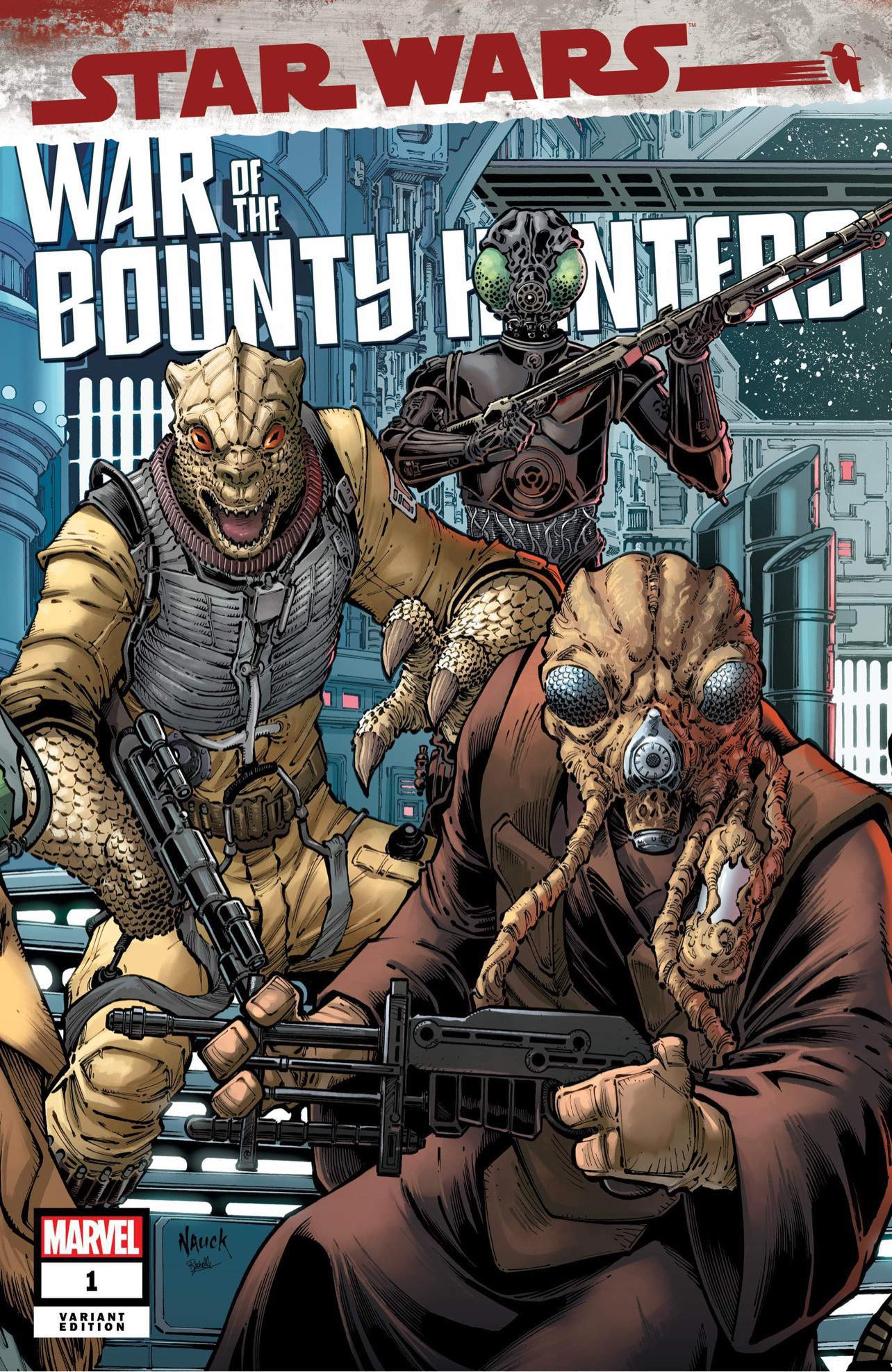 War of the Bounty Hunters #1 (Todd Nauck Variant Cover) (02.06.2021)