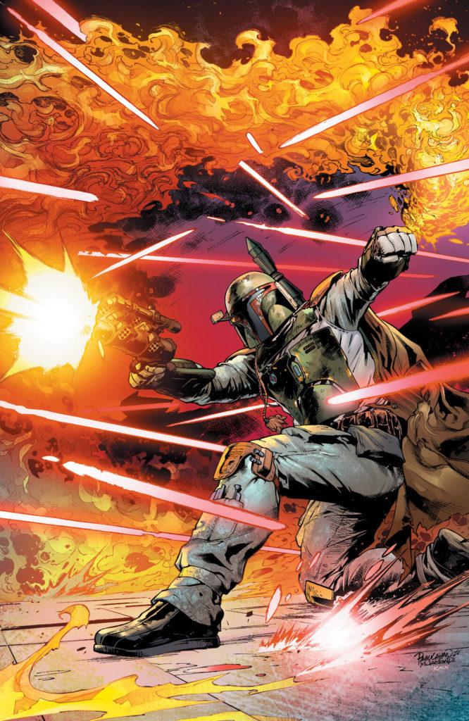 War of the Bounty Hunters #1 (Carlo Pagulayan Scorpion Comics Virgin Variant Cover) (02.06.2021)