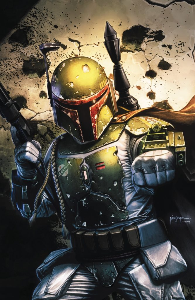 War of the Bounty Hunters #1 (Mico Suayan Big Time Collectibles Virgin Variant Cover) (02.06.2021)