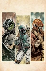 War of the Bounty Hunters #1 (Paolo Villanelli Virgin Variant Cover) (02.06.2021)
