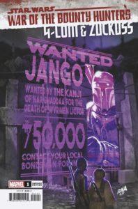 War of the Bounty Hunters: 4-LOM & Zuckuss #1 (David Nakayama Wanted Poster Variant Cover) (04.08.2021)