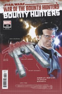 Bounty Hunters #16 (Paolo Villanelli Bounty Hunter Ship Blueprint Variant Cover) (22.09.2021)