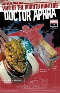 Doctor Aphra #14 (Paolo Villanelli Bounty Hunter Ship Blueprint Variant Cover) (01.09.2021)