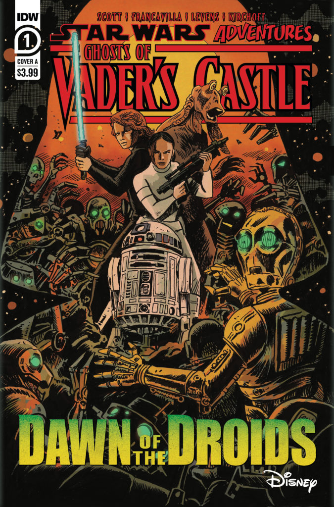 Ghosts of Vader's Castle #1 (Cover A by Francesco Francavilla) (22.09.2021)