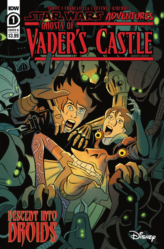 Ghosts of Vader's Castle #1 (Cover B by Derek Charm) (22.09.2021)