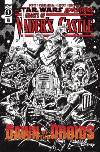 Ghosts of Vader's Castle #1 (Francesco Francavilla Black & White Variant Cover) (22.09.2021)