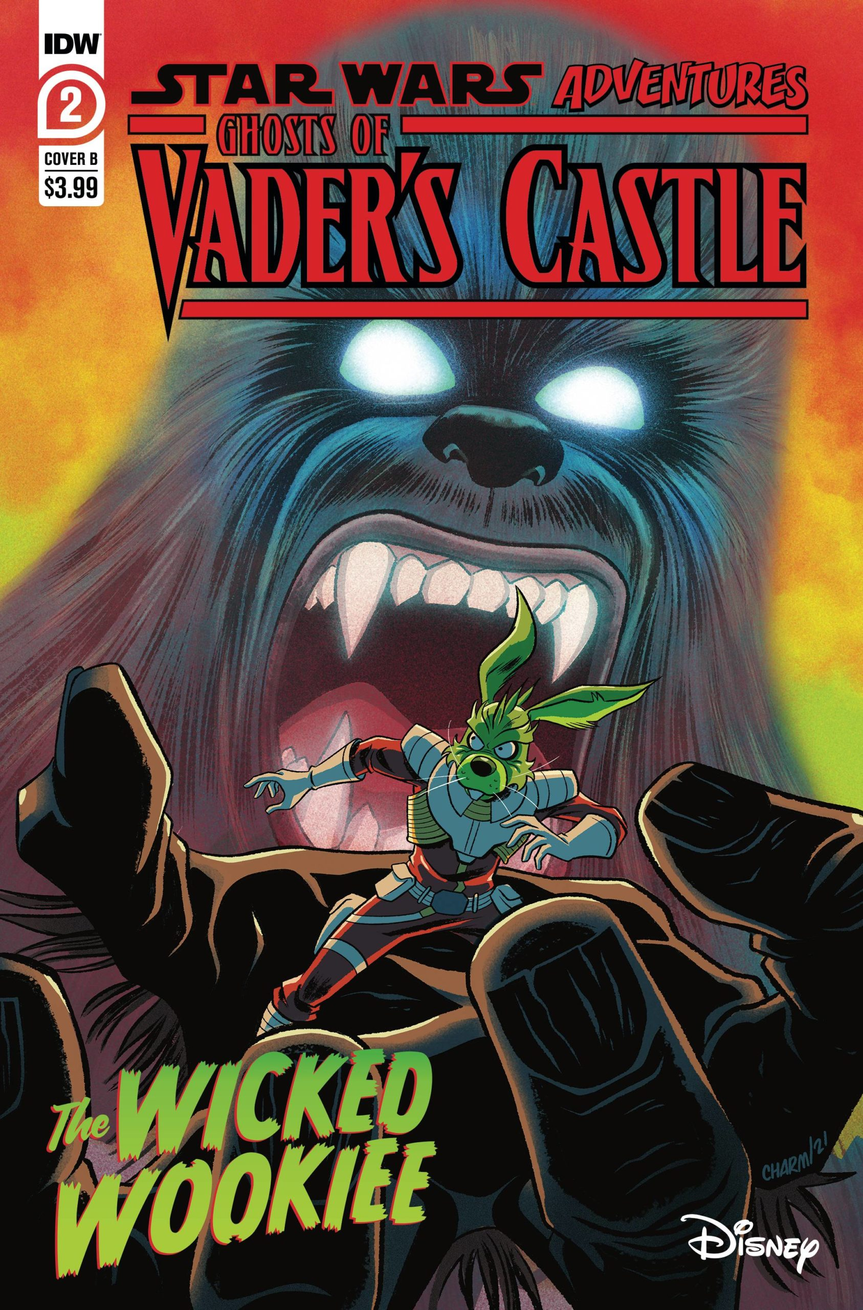 Ghosts of Vader's Castle #2 (Cover B by Derek Charm) (29.09.2021)