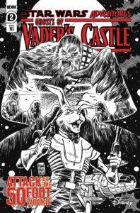 Ghosts of Vader's Castle #2 (Francesco Francavilla Black & White Variant Cover) (29.09.2021)