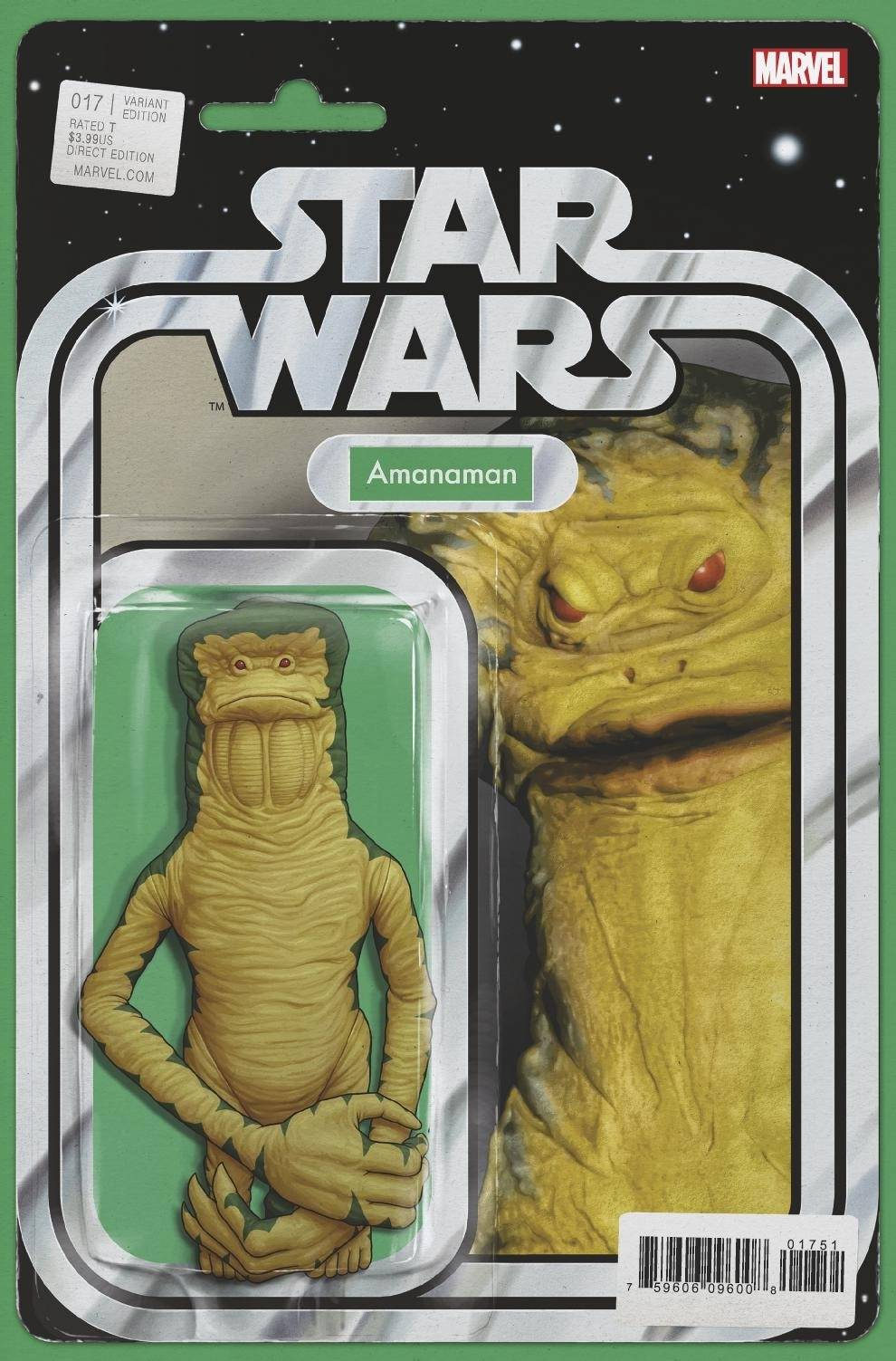 Star Wars #17 (Action Figure Variant Cover) (29.09.2021)