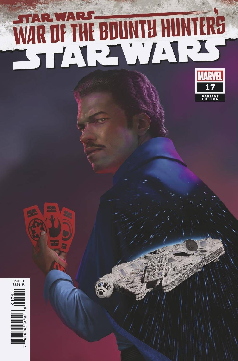 Star Wars #17 (Rahzzah Variant Cover) (29.09.2021)