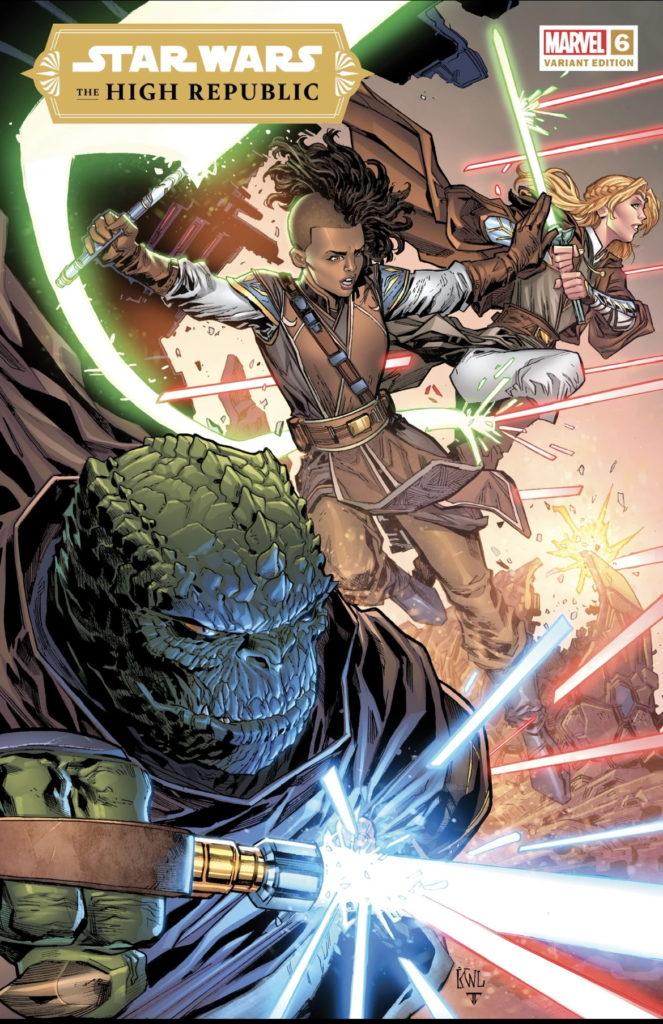 The High Republic #6 (Ken Lashley Black Saber Comics Variant Cover) (30.06.2021)