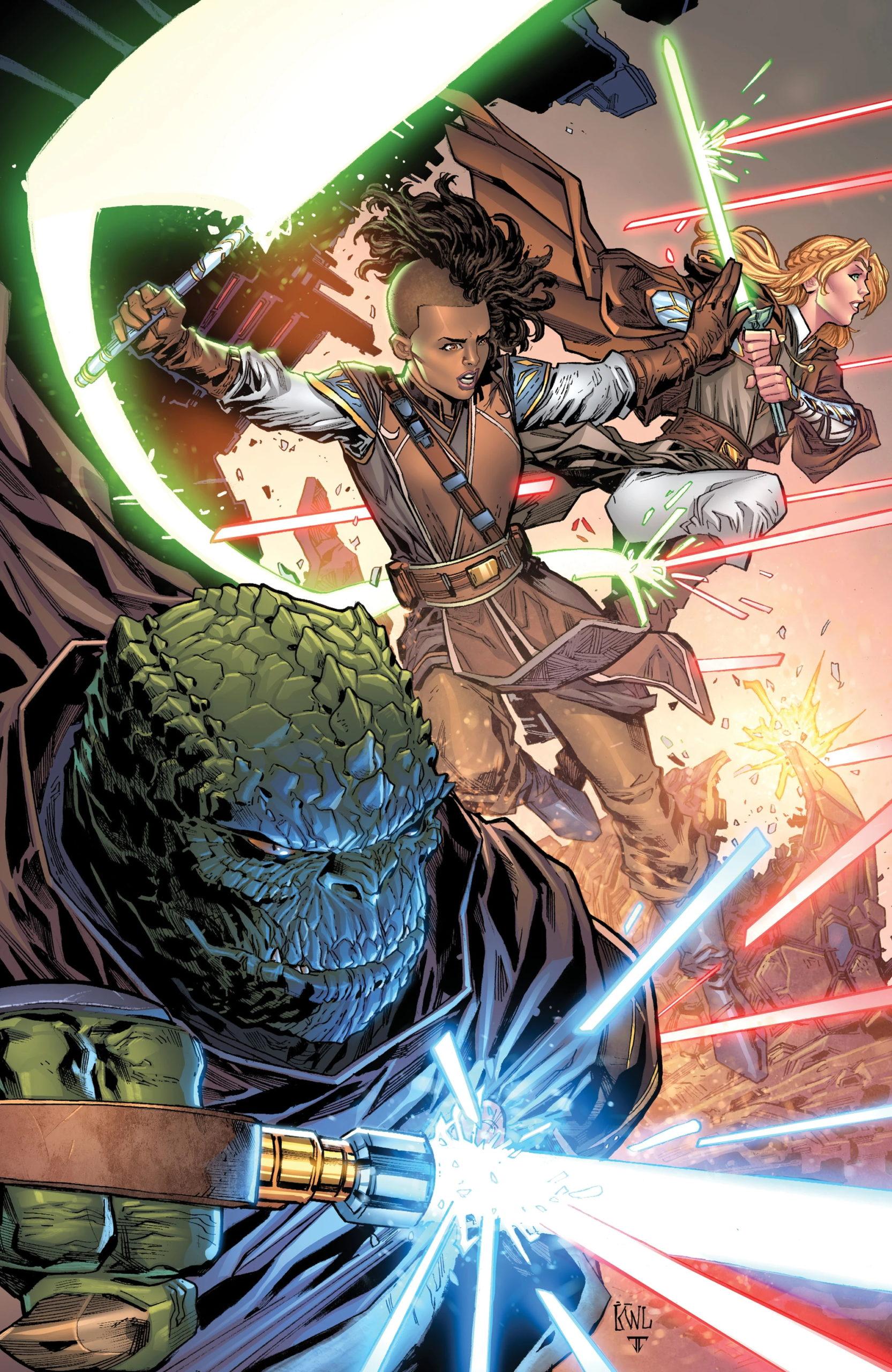 The High Republic #6 (Ken Lashley Black Saber Comics Virgin Variant Cover) (30.06.2021)