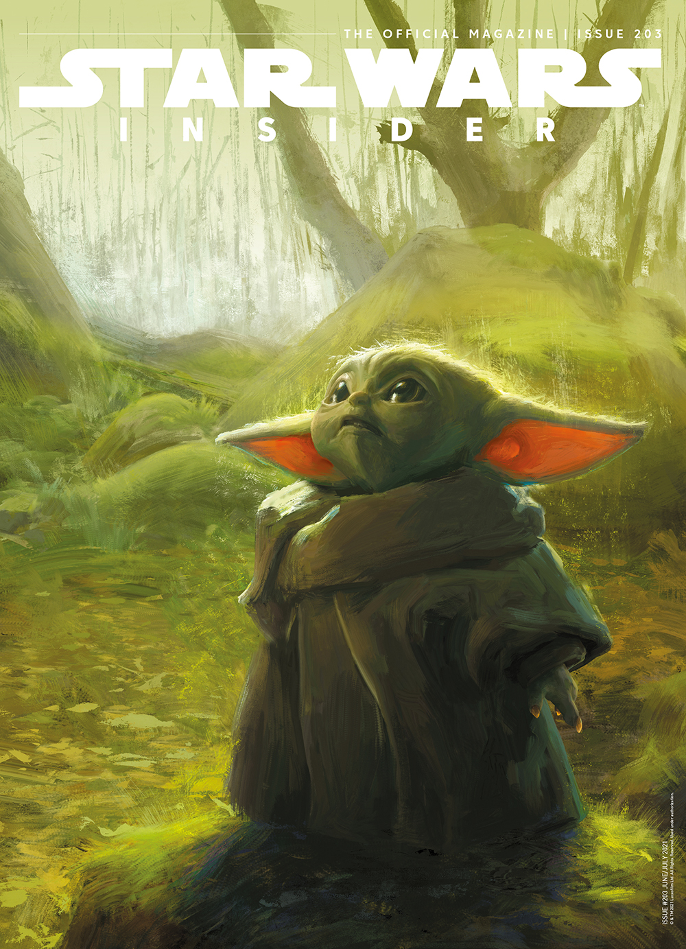 Star Wars Insider #203 (Subscriber Cover) (22.06.2021)