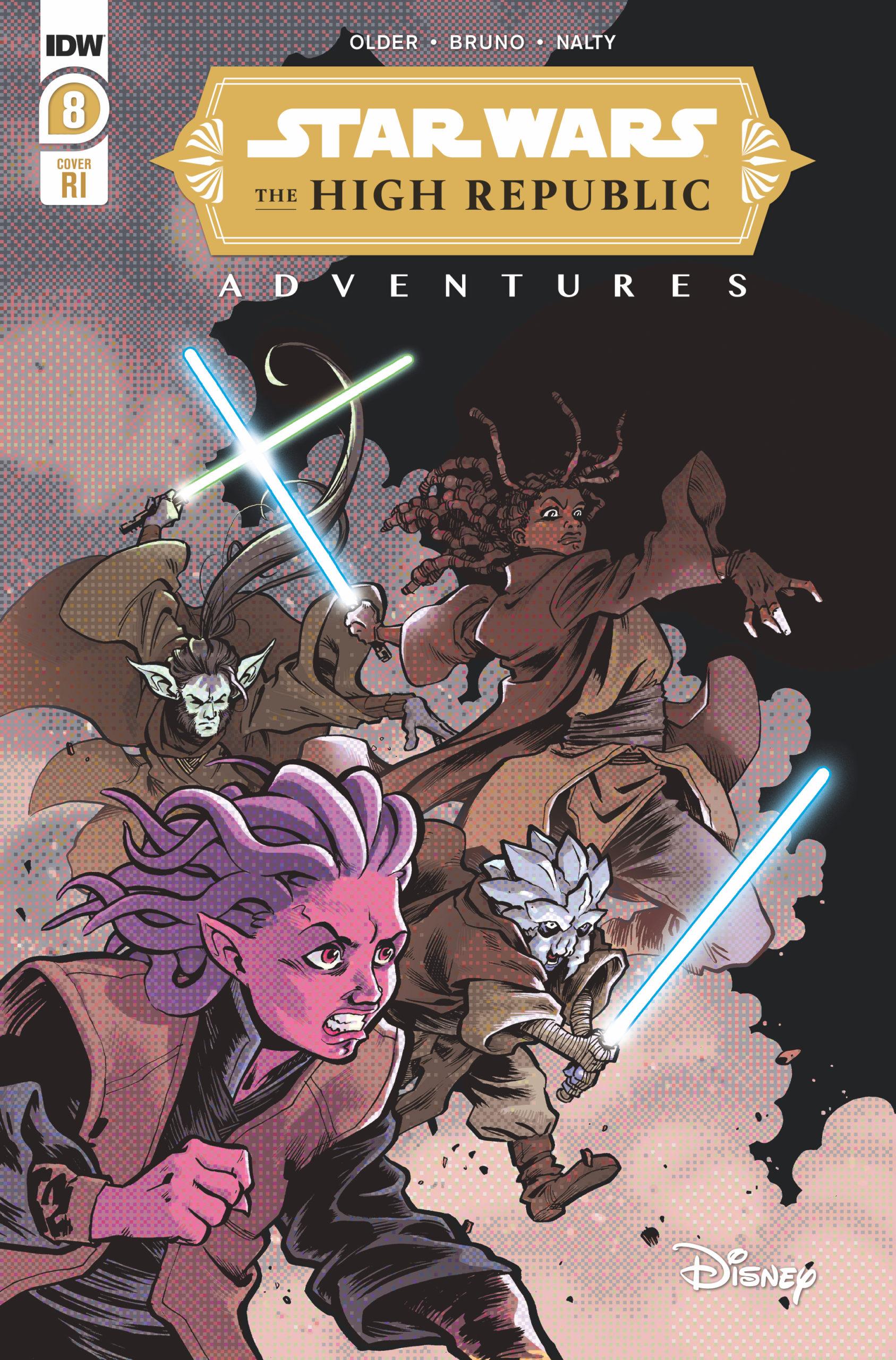 The High Republic Adventures #8 (Ilias Kyriazis Variant Cover) (01.09.2021)