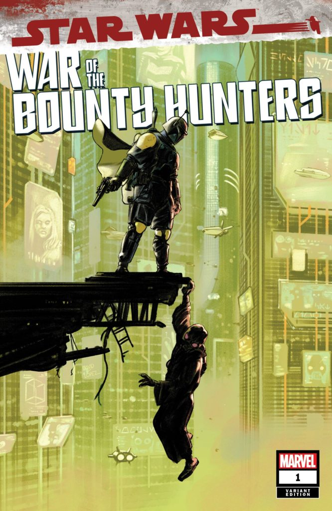 War of the Bounty Hunters #1 (David Lopez Sunset Comix Variant Cover) (02.06.2021)