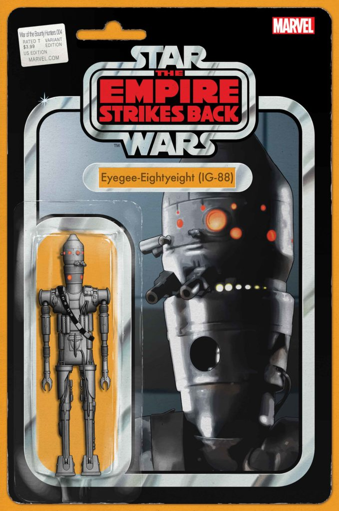 """War of the Bounty Hunters #4 (""""IG-88"""" Action Figure Variant Cover) (08.09.2021)"""