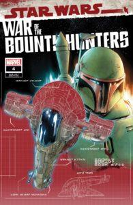 War of the Bounty Hunters #4 (Paolo Villanelli Bounty Hunter Ship Blueprint Variant Cover) (08.09.2021)