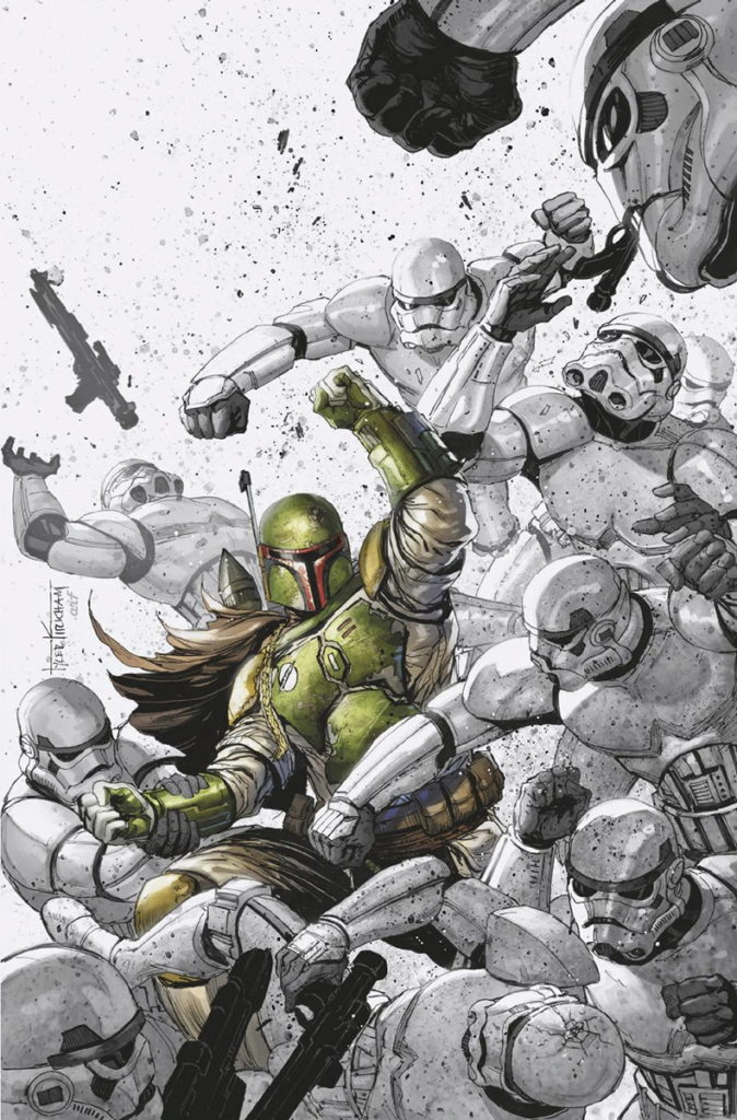 War of the Bounty Hunters #2 (Tyler Kirkham Unknown Comic Books Virgin Variant Cover) (14.07.2021)