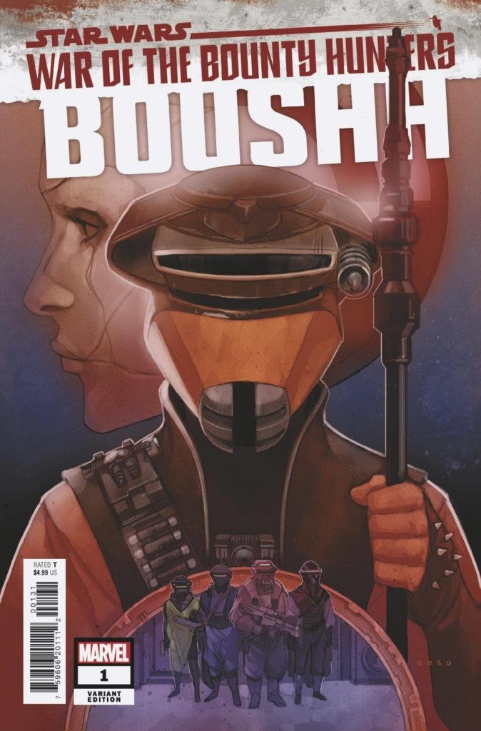 War of the Bounty Hunters: Boushh #1 (Phil Noto Variant Cover) (15.09.2021)