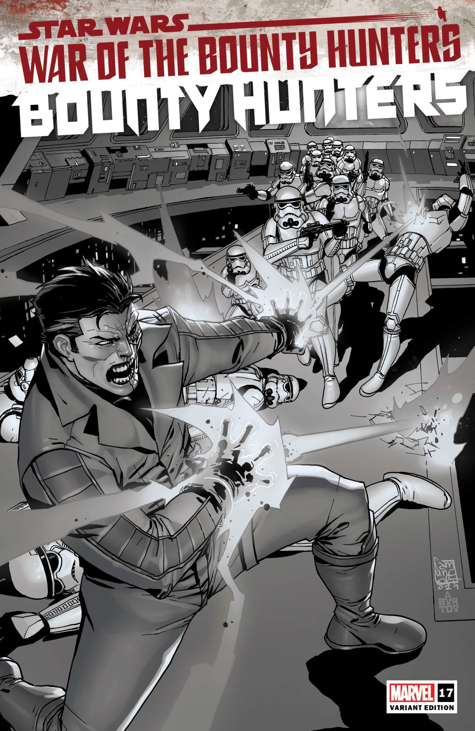 Bounty Hunters #17 (Giuseppe Camuncoli Carbonite Variant Cover) (27.10.2021)