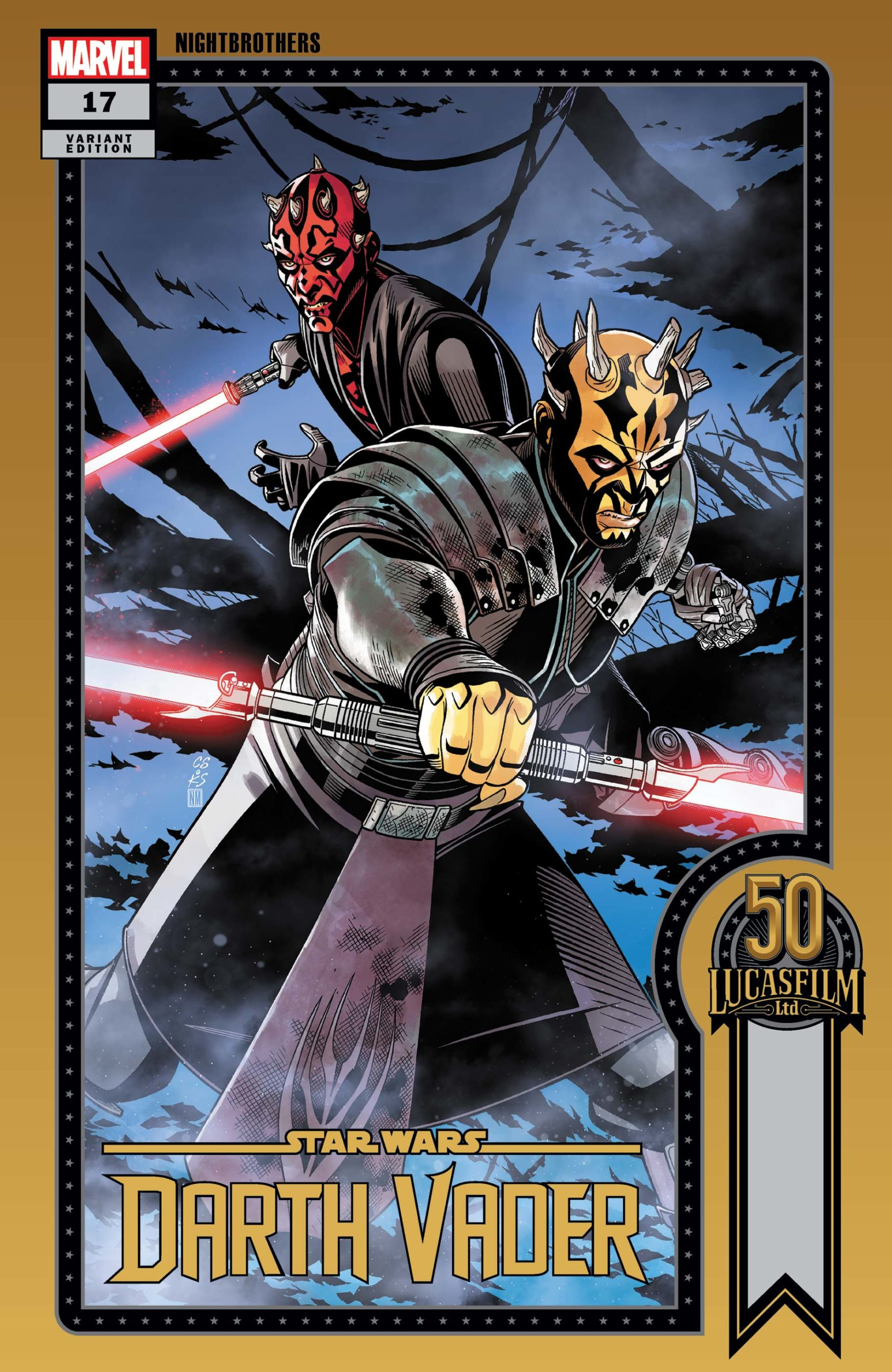 Darth Vader #17 (Chris Sprouse Lucasfilm 50th Anniversary Variant Cover) (20.10.2021)