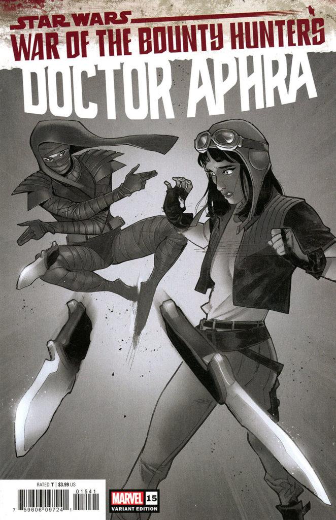 Doctor Aphra #15 (Sara Pichelli Carbonite Variant Cover) (13.10.2021)
